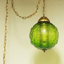chain swag light kit excellent vintage hanging light hanging l green globe chain cord