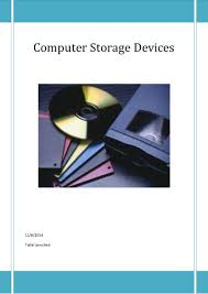 Storage Devices by Computer Storage Devices