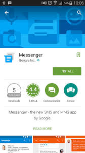 hangouts app android releases messenger app for android that may replace hangouts