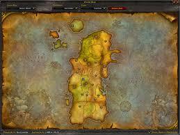 kalimdor map precata mapy azeroth wowfan cz