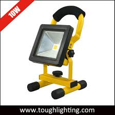 10w rechargeable flood light china 10w portable rechargeable cordless c work fishing led flood