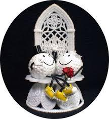 wedding cake topper ideas for golf 36853 lovers golf ball