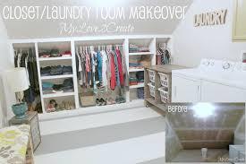 closet laundry room makeover my love 2 create