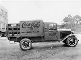 Old Ford Truck Types - delivering happiness through the years the coca cola company