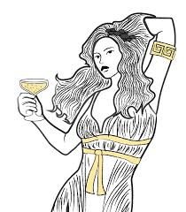 margarita glass cartoon myth busts the enduring legacy of breast shaped glassware eater