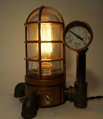 steampunk vapor proof desk lamp 43 steamlit steampunk bedroom