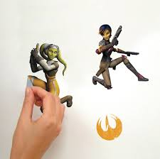amazon com roommates rmk2622scs star wars rebels peel and stick view larger