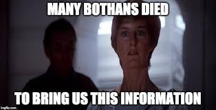 Many Bothans Died Meme - many bothans died imgflip