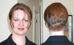 short brunette hairstyles front and back hairxstatic before after gallery 8 of 9