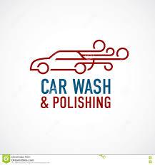 car wash and polishing logo template stock vector image 79790996