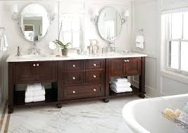 Bathroom With Two Vanities Two Vanity Bathroom Designsbathroom Sink Cabinets Ideas Marble Top