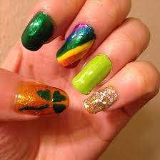 10 best saint patrick u0027s day nail art design ideas for toe nails