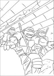 teenage ninja mutant free superhero coloring pages super heroes