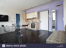 studio apartment with everything included in one room kitchen