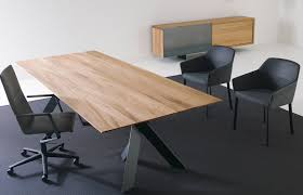 Wood Conference Table Stunning Wood Chrome Conference Table Ambience Doré