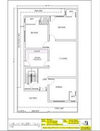 plan drawing house plan drawing size 35x60 islamabad design project