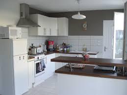 d馗oration peinture cuisine enchanteur décoration cuisine blanche avec idee peinture cuisine