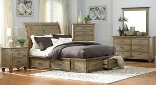 Driftwood Bedroom Furniture Homelegance Sylvania Platform Bed Driftwood 2298sl 1