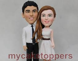 custom wedding toppers custom wedding cake toppers and bobble heads by dealeasynet