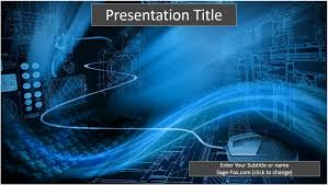 ppt templates for electrical engineering free binary technology powerpoint template 6508 sagefox