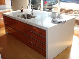Tops Kitchen Cabinets by 35 Best Waterfall Counters Images On Pinterest Modern Kitchens