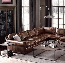 Lancaster Leather Sofa Lancaster Leather Sofa Bonners Furniture