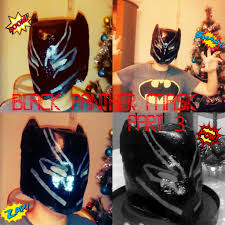 Black Panther Marvel Halloween Costume 18 Captain America Civil War Black Panther Costume Mask 3