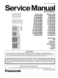 panasonic cs xe7pkew service manual ac power plugs and sockets