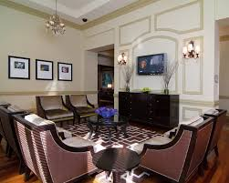 dining room trim ideas new york wall moulding ideas dining room modern with molding clear