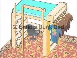 Instructions For Building Bunk Beds by Build A Loft Or Bunk Bed Ochshorn Youtube