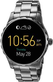 amazon black friday smart watches fossil q marshal gunmetal stainless steel smartwatch review