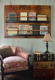Unique Bookshelf Unique Bookshelf Periodicals Book And Magazine Rack