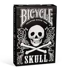 bicycle skull cards bicycle cards