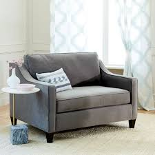 Sleeper Chairs And Sofas Paidge Chair And A Half Sleeper West Elm