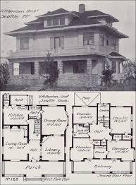 foursquare house plans dazzling design ideas 3 american foursquare mansion house plans 1908