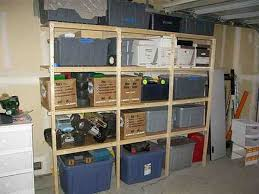 Free Wooden Garage Shelf Plans by 49 Best Tv Garage Shelving Images On Pinterest Garage Shelving