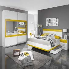 deco chambre gris et jaune deco chambre gris jaune wolfpks
