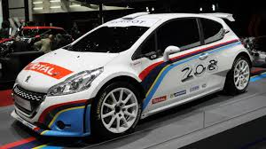 peugeot 208 sedan geneva u002713 peugeot 208 t16 rally car
