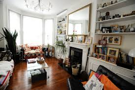 decorating interesting living room with beautiful lucite coffee