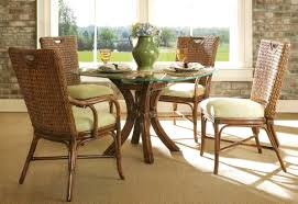 wicker dining room chairs rattan dining set marquesa wicker paradise
