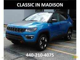 jeep compass trailhawk 2017 colors 2017 laser blue pearl jeep compass trailhawk 4x4 121258150