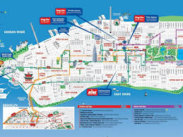Nyc Maps Download Printable Map Of New York City Attractions Major