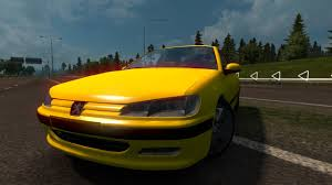 peugeot yellow peugeot 406 1 26 ets2 euro truck simulator 2 free download youtube