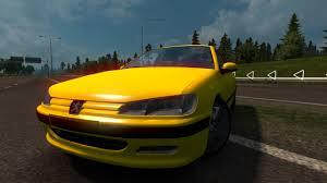 peugeot yellow peugeot 406 1 26 ets2 euro truck simulator 2 free download youtube