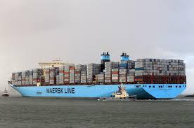 maersk mc kinney moller 9619907 container ship maritime