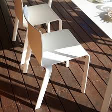 Contract Outdoor Furniture Contemporary Chair Stackable Polypropylene Contract Basic
