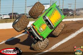 monster truck race track runte and sims victorious at back to monster truck bash