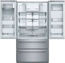 French Door Fridge Size - bosch b21cl80sns 36 inch 4 door counter depth french door