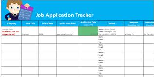 Applications Of Spreadsheet Application Tracker Spreadsheet Free