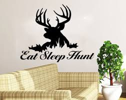 Hunting Home Decor Hunting Wall Decal Etsy